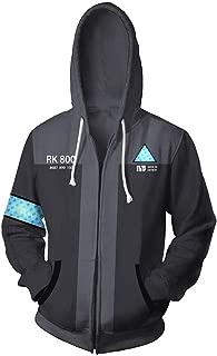 Unisex Detroit Become Human Hooide Men's Hooded Sweatshirt