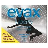 Evax Liberty Compresas de Noche con Alas - 9 unidades