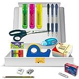 Pack Material Oficina - PS BASICS OFFICE (ESENCIAL) - Kit de material de Oficina: Subrayadores,...