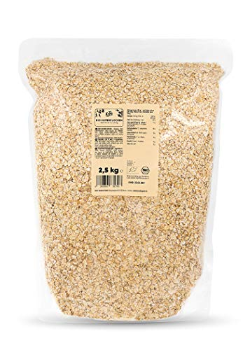 KoRo - Fiocchi d'avena bio 2,5 kg - fiocchi d'avena piccoli senza zucchero, avena biologica, per...