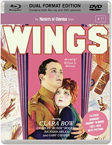 Wings (Masters of Cinema) (Dual Format Blu-ray & DVD) [Reino Unido] [Blu-ray]