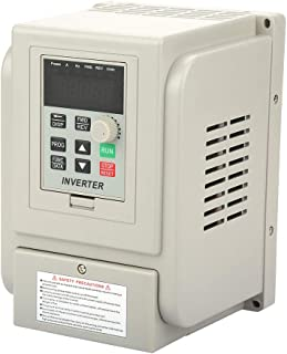 Frequenzumwandler Geschwindigkeitsregler AC 2,2 kW 220V Geschwindigkeitsregler einphasig Frequenz Spannungsregler Motor