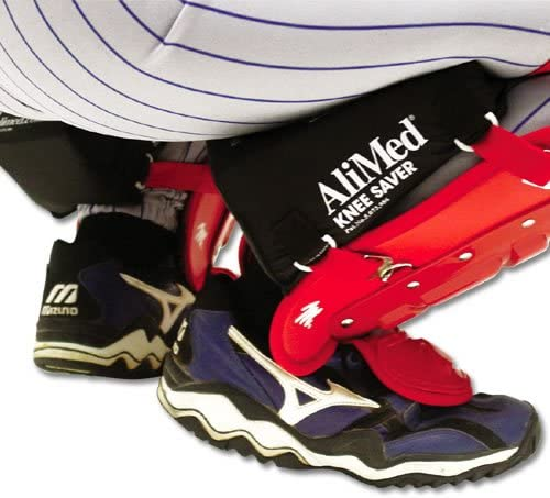 """Catcher Knee Savers for Baseball or Softball Black size Small up to 5/' 7/"""""""