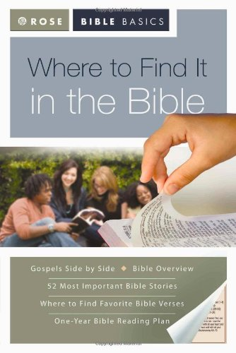 Where to Find It in the Bible (Rose Bible Basics)
