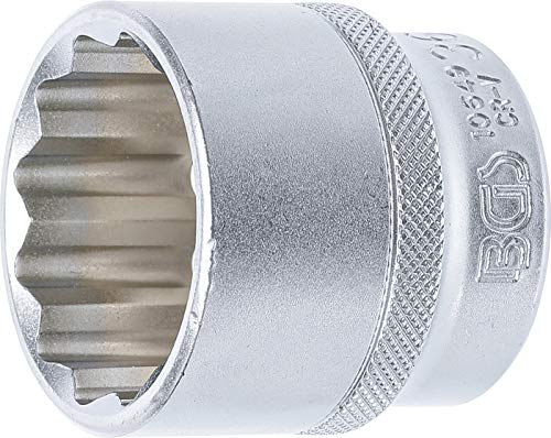 BGS 10649 | Llave de vaso 12 caras | entrada 12,5 mm (1/2') | 36 mm