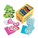 Fun Express Classroom Calendar Days of The Year - 400 Pieces - Teacher Supplies and Home Educational Activities for Kids