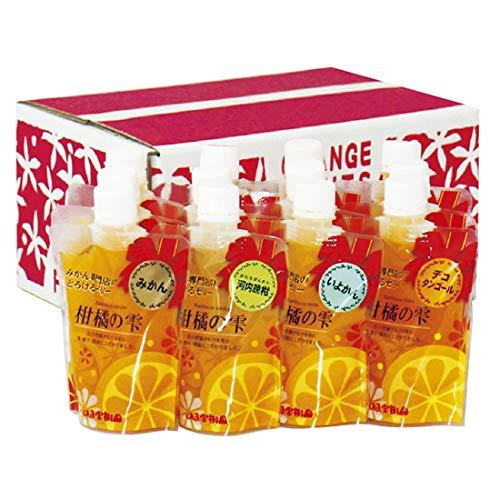 4種セット 柑橘の雫(しずく) 極上飲むゼリー 12個入り(家庭用・バラ詰)