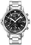 IWC Herren-Armbanduhr 44mm Armband Edelstahl Gehäuse + Saphirglas Automatik Zifferblatt Schwarz IW376804