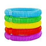SCIONE Fidget Pop Toys-Tube for Kids and Adults,Pipe Sensory Tools for Stress and Anxiety Relief,...