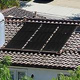 XtremepowerUS 75070 Pool Solar Panel PP 4X20 FT, Black