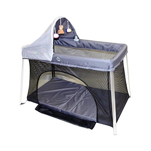 Travel Crib For Baby. Easy Front And Top Access. Protect Your Baby With Sun Shade And Bug...