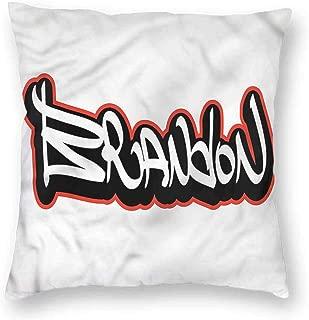 Mannwarehouse Brandon Living Room Sofa Hug Pillowcase Urban Hip-hop Culture Anti-fadingW12 x L12