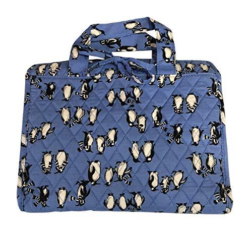 Vera Bradley Hanging Travel Organizer (Penguins Blue)