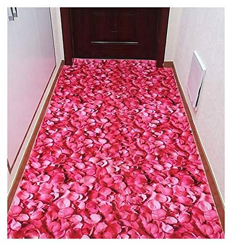 ditan XIAWU 3D-Eingangsteppich Wohnzimmer rutschfest Gang Schlafzimmer Kann Geschnitten Werden (Color : A, Size : 100x100cm)