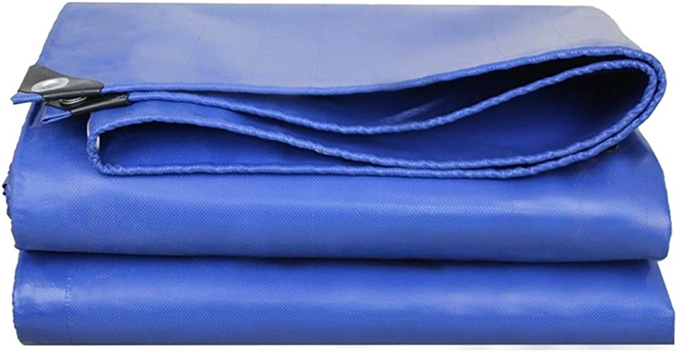 Bache épaissir Multifonction Extérieur Imperméable à l'eau écran Solaire Ombre Tissu Linoléum Résistant à l'usure Plusieurs Tailles Peuvent être Personnalisés GMING (Couleur   Bleu, Taille   3x4M)