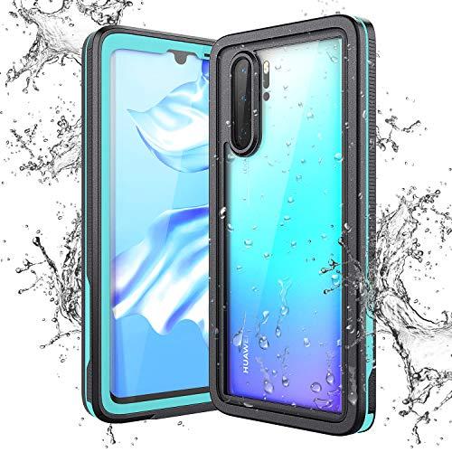 KOTPARX Funda Impermeable para Huawei P30 Pro, Carcasa IP68 Certificado Protección de 360 Grados con Protector de Pantalla Anti-Choque Anti-Arañazos Sumergible Resistente Al Agua Carcasa