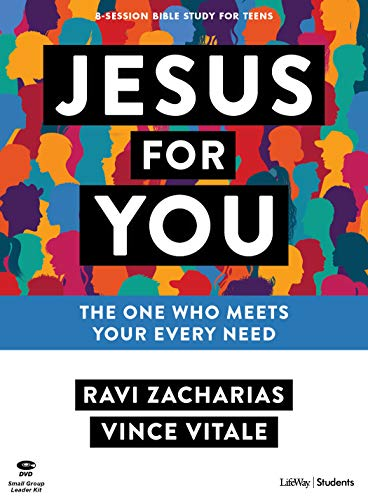Jesus for You - Teen Bible Study Leader Kit: The Ultimate Answer to Your Deepest Needsの詳細を見る
