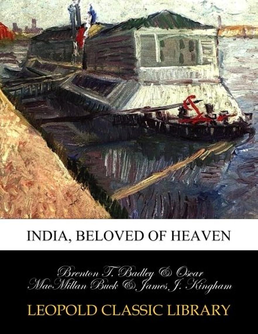 チューインガム不健全不規則なIndia, beloved of heaven