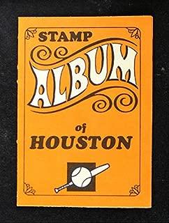 1969 Topps Baseball Stamp Albums NO Houston Astros Houston Astros (Baseball Card) Dean's Cards 5 - EX Astros