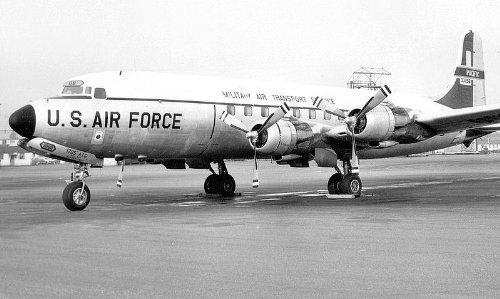 1/144 U.S. Air Force C-118A (japan import)