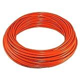 Cyclingcolors - Funda de freno para bicicleta (5 mm, cable universal para bicicleta de montaña, carretera, ciudad, inserto rendimiento, 3 m), color naranja