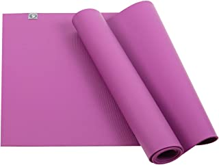 UGO Vigor Rubber Yoga Mat 71 x26 Inch Pilates and Floor Exercises Meditating High Resilience Non-Slip Fitness Mat (6MM)