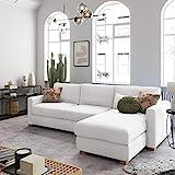 place to be. Sofá cama de 140 cm de ancho con cajón de cama de 3 plazas, sofá con función de dormir plegable, cama de invitados con diván a la derecha, tejido individual exclusivo