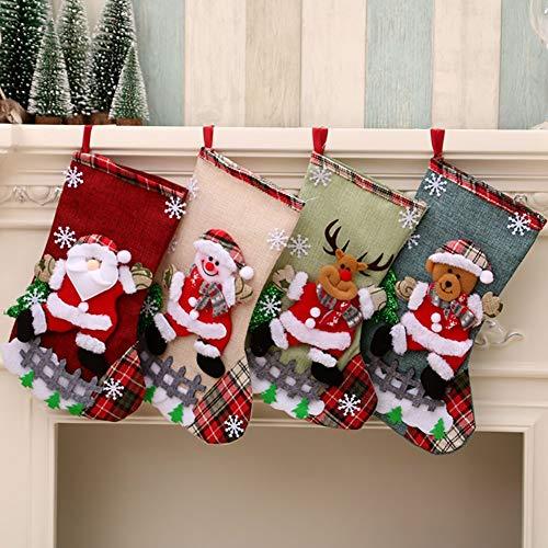 Medias Navidad Bolsa Regalo Medias Navidad árbol