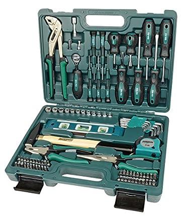 Brüder Mannesmann Werkzeuge 87piezas) maletín de herramientas, 1pieza, m29084
