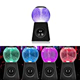 Mini Water Polo Tornado Colorful LED Light Wireless Bluetooth Speaker Gift Water Dance Audio Subwoofer...