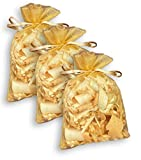 Hagson Zirbenduftsäckchen im Organzabeutel (ca. 13 x 8cm), Tolles Geschenk wunderbarer Duft, steirische Zirbenspäne, Zirbenflocken, Zirbelflocken, Zirbenholzspäne (3)
