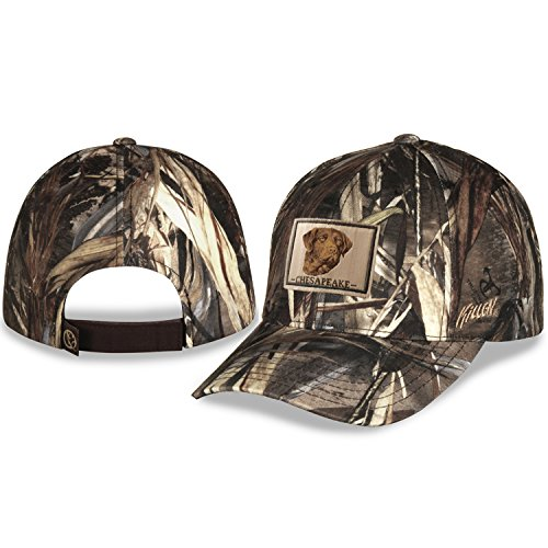 Gills-N-Game Chesapeake Bay Retriever Camo Hunting Hat with Adjustable Velcro Closure