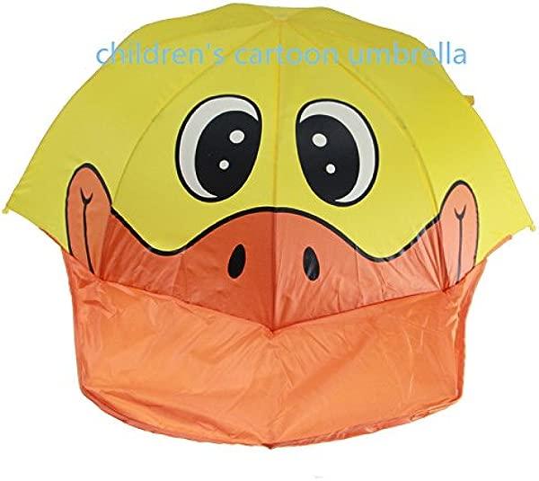 Children S Cartoon Umbrella 3D Duck