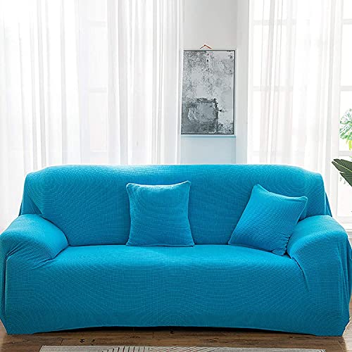 qaqy Coperchi divani coperti con Sfondo Elasticizzato, Morbido Tessuto Jacquard Lavabile in Lavabile Divano Casi di Divano Copri 1/2/3/4 piazze per Soggiorno (Color : B, Size : 3seater190~230cm)