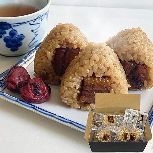 鰻屋が作った国産うなぎ ミニ鰻おにぎりセット,タレ山椒付き(9個入)