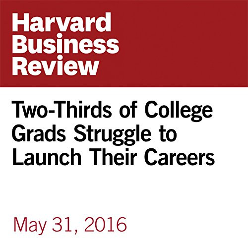 Two-Thirds of College Grads Struggle to Launch Their Careers copertina