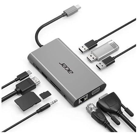 Acer 10 In 1 Mini Dock W Pd Silber Computer Zubehör