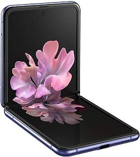 Samsung Galaxy Z Flip 4G LTE   SM-F700N 256GB   Factory Unlocked - Korea International Version (Mirror Purple)   Includes Saru Speaker