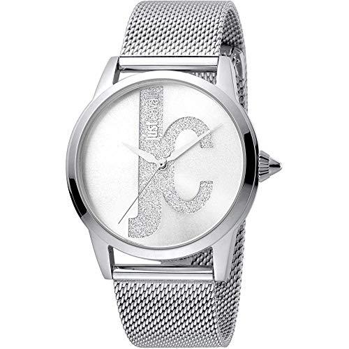 JUST CAVALLI Reloj Analógico para Mujer de Cuarzo con Correa en Acero Inoxidable 4894626016080