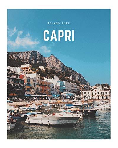 Capri: A Decorative Book | Perfect for Coffee Tables, Bookshelves, Interior Design & Home Staging