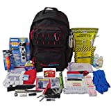 Ready America 70450 72 Hour Elite Emergency Kit, 1-Person 3-Day Backpack, Includes First Aid Kit, Survival Blanket, Portable Preparedness Go-Bag for Camping, Car, Earthquake, Travel, Hiking, Hunting