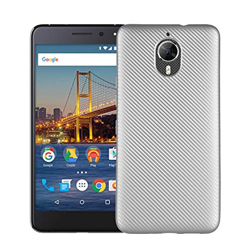 CASEWRS Kompatibel mit Google General Mobile GM 5 Plus Hülle Schutzhülle voller Schutz ultradünne Matte Anti-Scratch-Kohlefaser Mode kreative Anti-Fall-Softshell geeignet Inner Shock