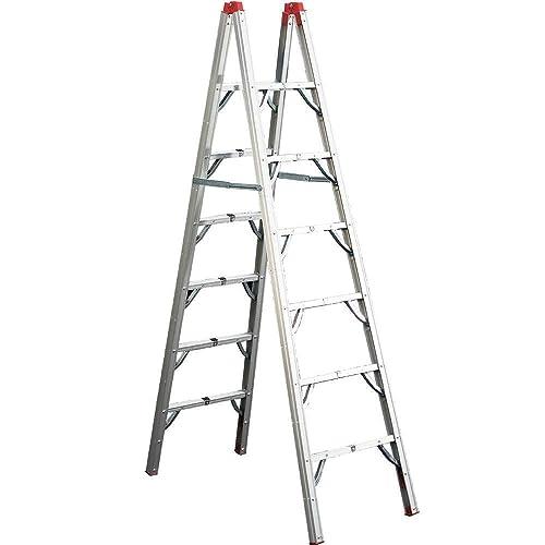 GP Logistics SLDD7 7' Compact Folding Ladder