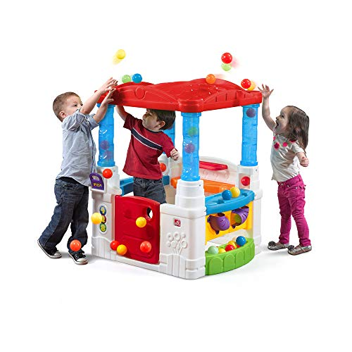 Step2 Crazy Maze Ball Pit Playhouse, Red Roof