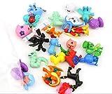 Pack 48 piezas Pokemon Mini Figuras Pokemon Pikachu para Fiestas de niños Regalos, Piñata o...