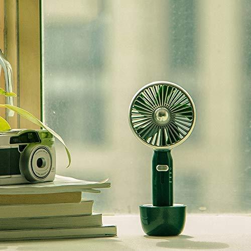 N\C Mini Ventilador de Mano Retro Ventilador eléctrico portátil de Mano pequeño para Viajes de Oficina en casa
