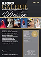 ILFORD 2003182 GALERIE Prestige Metallic Gloss - 13 x 19 Inches 50 Sheets [並行輸入品]