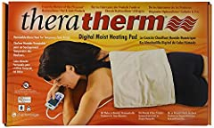 Delivers intense, moist heat therapy which provides temporary relief from pain associated with arthritis, muscle spasm and inflammation caused by strain and tension Intended for use on the back, shoulder, wrist, stomach, knee or foot; a Lockout mode ...