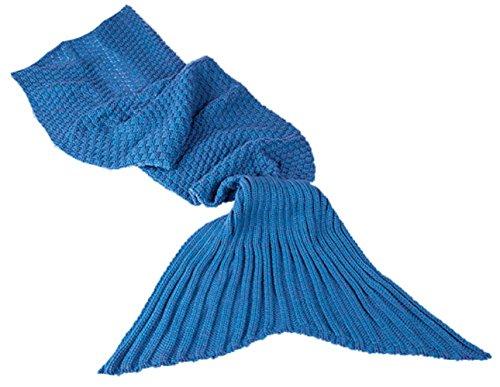 Out of the Blue Schmusetuch Meerjungfrau, 100% Polyacryl, ca. 650 g, ca. 180 x 90 cm