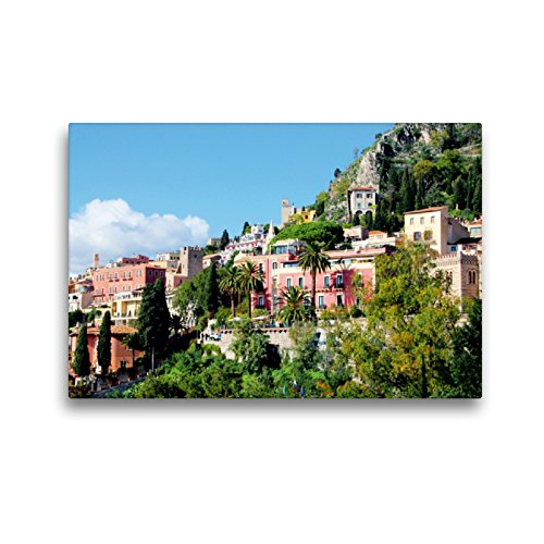 Lienzo de Calvendo prémium, 45 x 30 cm, formato horizontal, vista de la ciudad, imagen HD sobre bastidor, listo para lienzo de alta calidad de Helene Seidl Orte